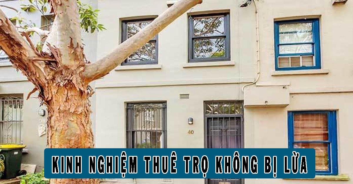 Kinh nghiệm tránh lừa đảo khi thuê nhà trọ